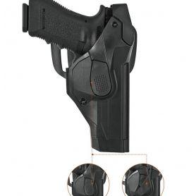 Funda Pistola con sistema anti hurto nivel 3, disponible para Glock 17/19 y Beretta 92/98/90A1