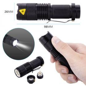 Linterna Led Recargable, Cargador, Bateria Incluido, Uso Policial