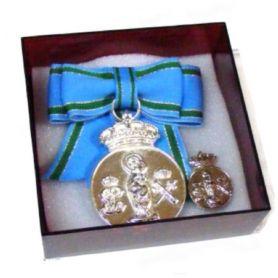 Medalla Señora VIRGEN DEL PILAR