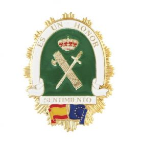 Placa Guardia Civil ES UN HONOR