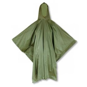 Impermeable Poncho Verde