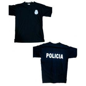 CAMISETA LOGO POLICIA
