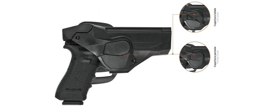 Fundas Pistola con Seguridad