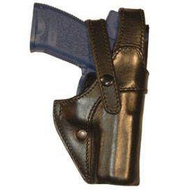 Funda de cuero moldeado con doble cierre, especial  para uniformidad