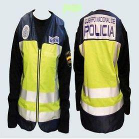 Reflectante- Chaleco Policia