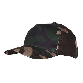 Gorra Militar de Camuflaje Verde
