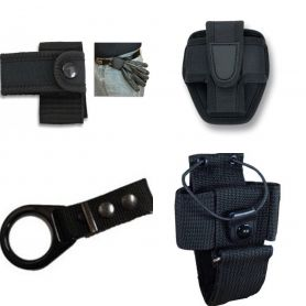 Kit Cinturon Policial, Porta Walkie, Tahali Defensa, Funda Grillete, Porta Guantes