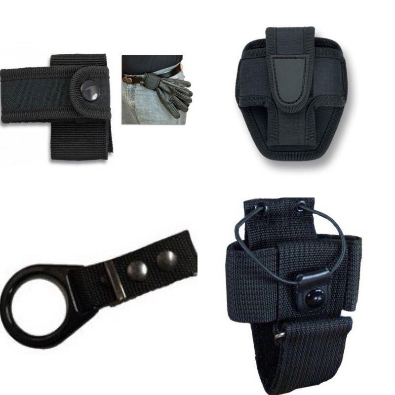 Kit Cinturon Policial, Porta Walkie, Tahali Defensa, Funda Grillete, Porta Guantes