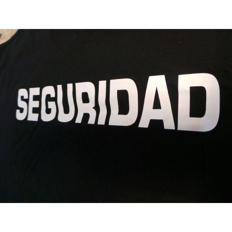 Camiseta Seguridad