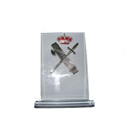 Placa cristal Emblema Guardia Civil