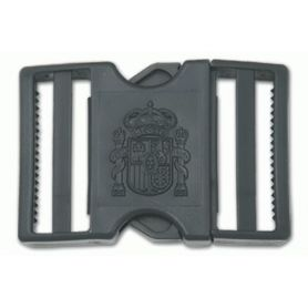 Hebilla cinturon policia local, logo constitucional