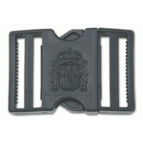 Hebilla cinturon policia local, logo constitucional