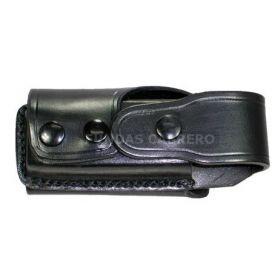 Funda cargador Pistola  horizontal, con trabilla para cinturón de uniforme