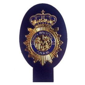 Parche POLICÍA NACIONAL, Emblema Jersey