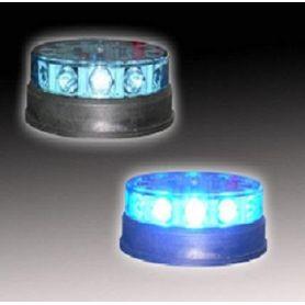 Prioritario destellante azul de LEDS. Modo flash o crucero