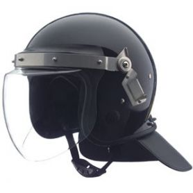 Casco antidisturbios +visera 4mm +estanca +anti-vaho +nuquera