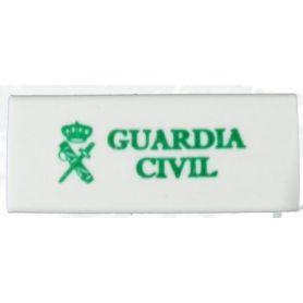 Goma borrar Guardia Civil