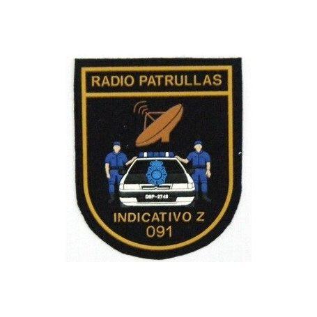 Parche Radio Patrullas Policía Nacional