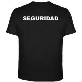 Camiseta Control de Acceso, Escolta Privada, Vigilantes Seguridad, Jefe Seguridad