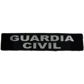 Parche Guardia Civil Reflectante Para Chaleco Antiblas