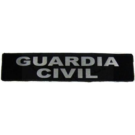 Parche Guardia Civil Reflectante Para Chaleco Antiblas