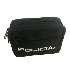 Bolso Policía con cremallera, para porta en Cinturon Policiial