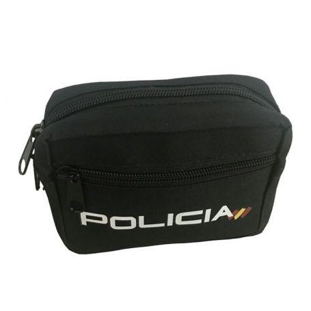 Bolso Policía con cremallera, para porta en Cinturon Policial