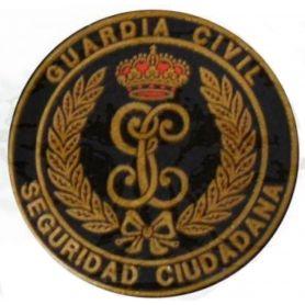 DISTINTIVO SEGURIDAD CIUDADANA REDONDO CON VELCRO