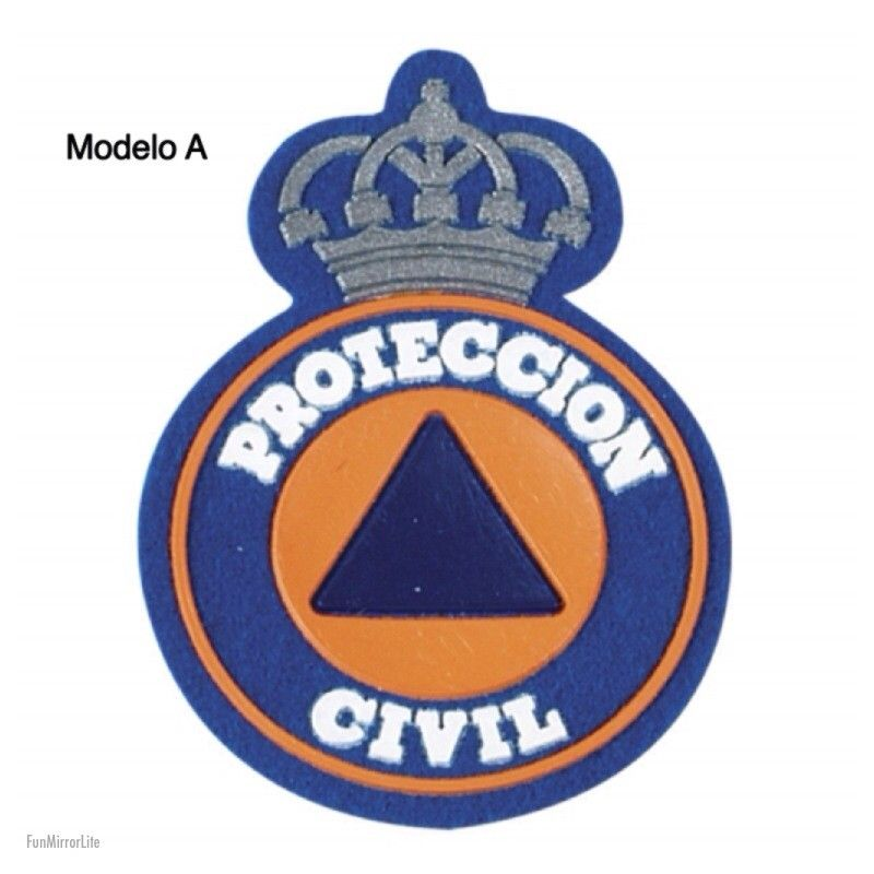 Parche PROTECION CIVIL