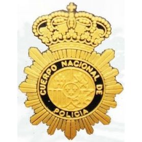 EMBLEMA CUERPO NACIONAL DE POLICÍA PARA GORRA