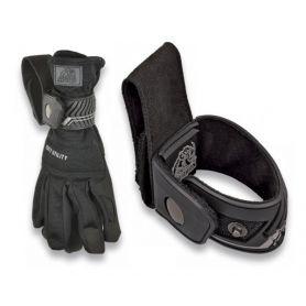 Porta guantes seguridad negro