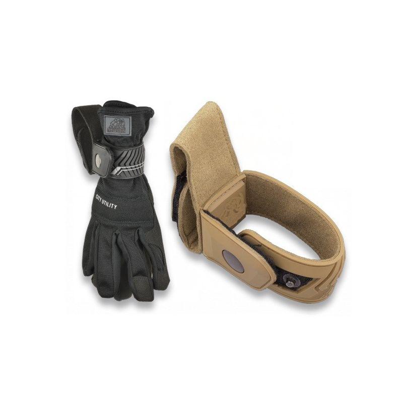 Porta guantes seguridad coyote