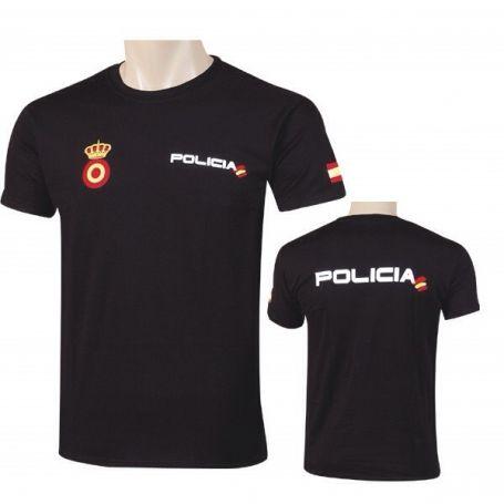 Camiseta Policia