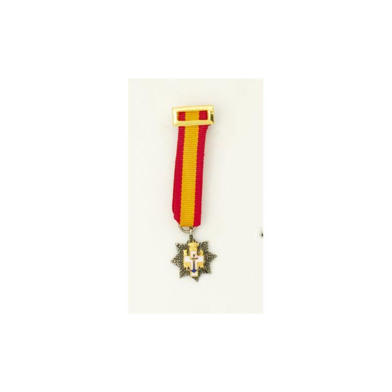 Placa Miniatuara Merito Naval