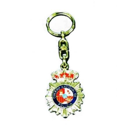 Llavero Cuerpo Nacional de Policía