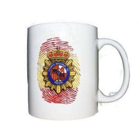 JARRA CUERPO NACIONAL DE POLICÍA HUELLA ESPAÑA