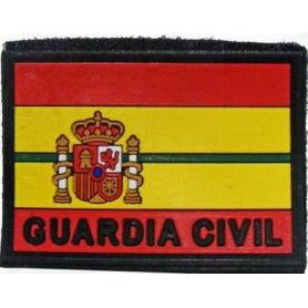 PARCHE GUARDIA CIVIL BANDERA ESPAÑA