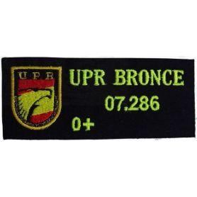 Parche Policía Nacional Upr Personalizable