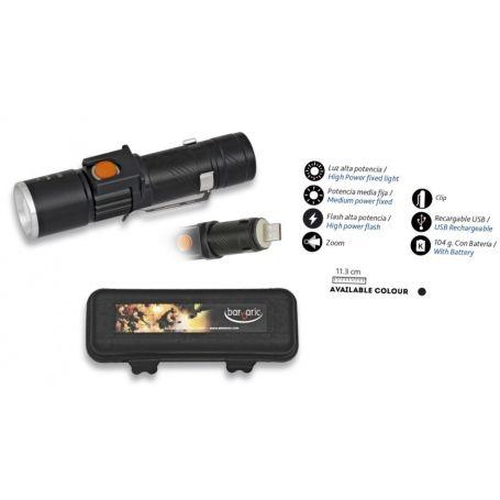 Linterna Policial con Zoom y Bateria Incluida