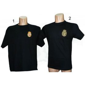 Camiseta Policía Cuerpo Nacional de Policía Bordada