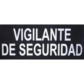 Parche Vigilante De Seguridad Reflectante para Chaleco