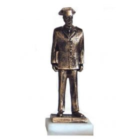 Figura Guardia Civil Traje Hombre Color Bronce