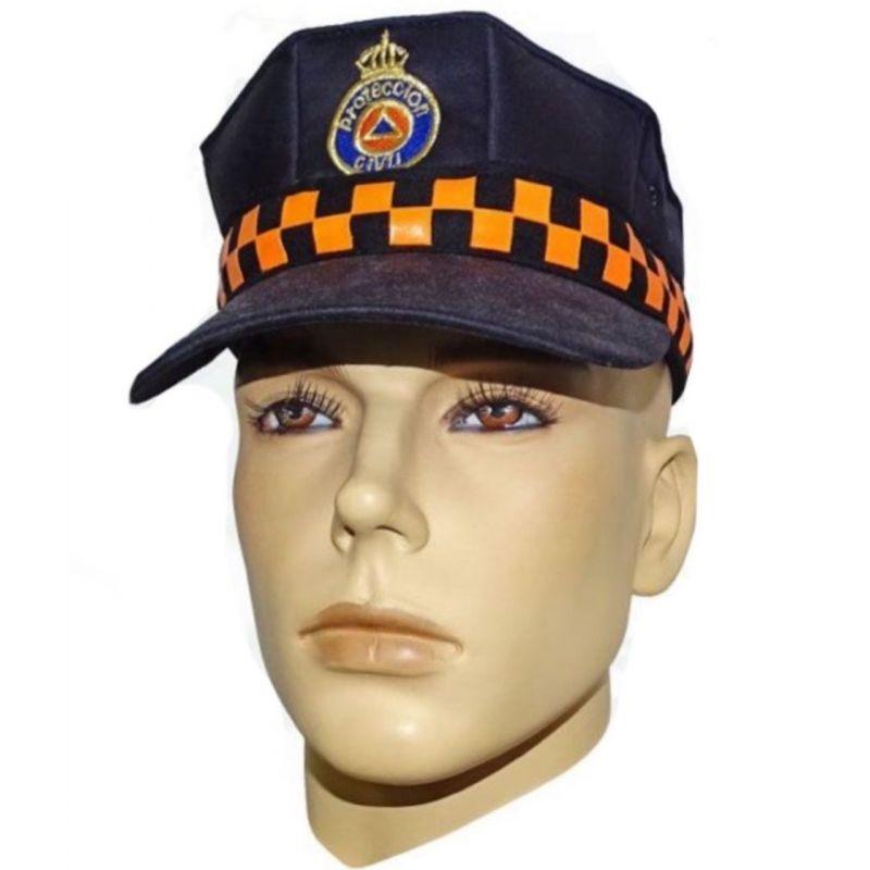 Gorra Protección Civil Alta Cálidad con Emblema Bordado