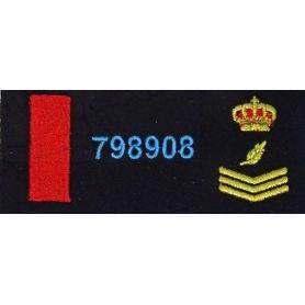 Parche Cuerpo Nacional de Policía Uip Personalizado