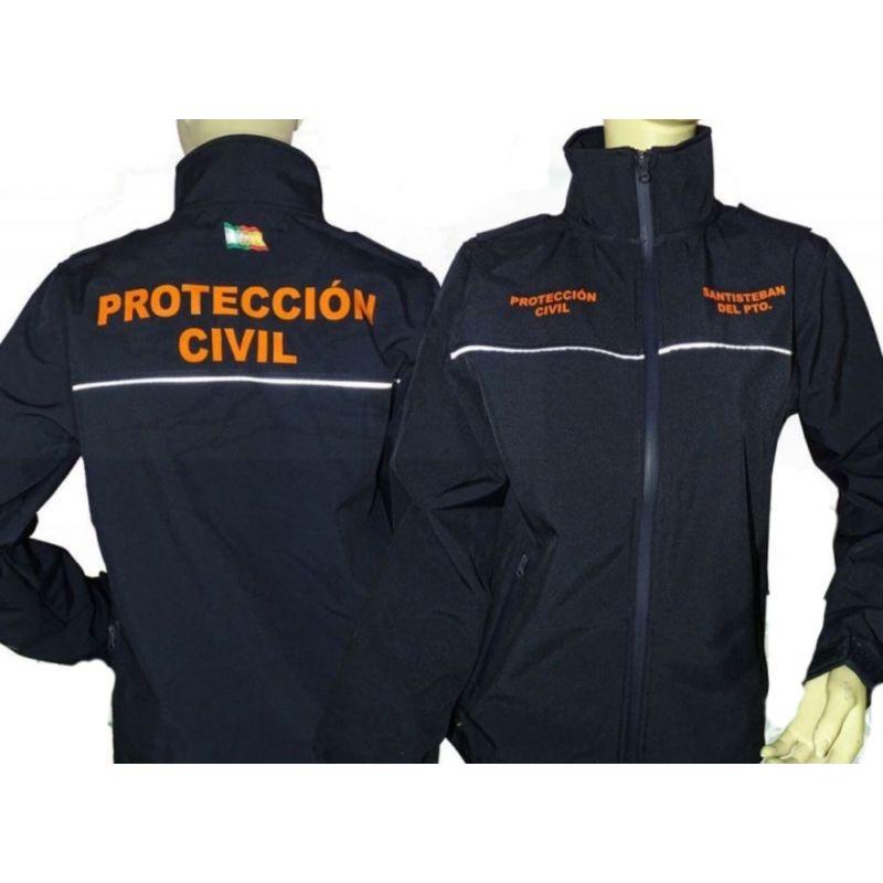 Chaqueta Protección Civil Softshell