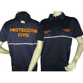 Polo Protección Civil Técnico Alta Calidad