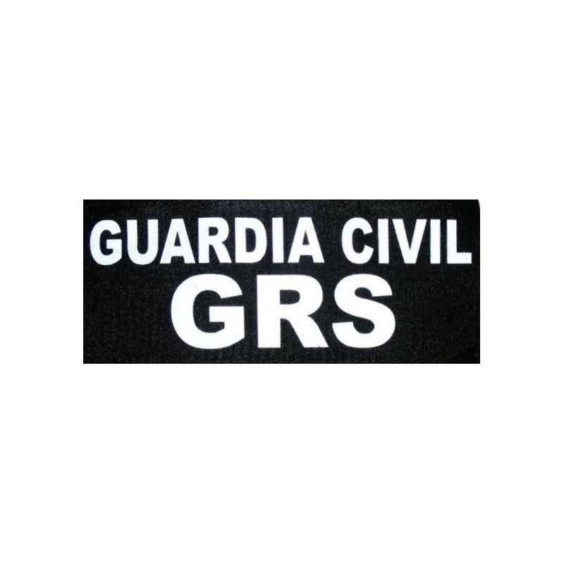 Parche Grs Guardia Civil Para Chaleco Táctico