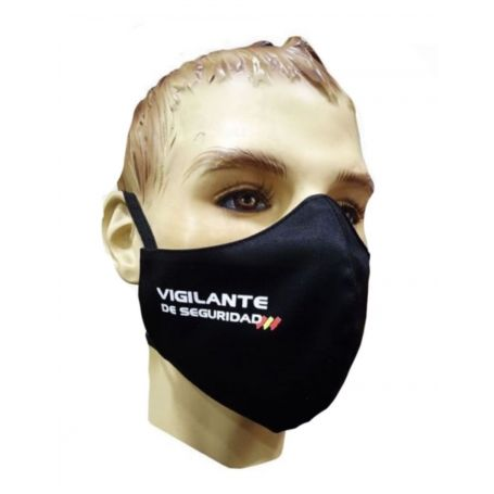 Mascarilla Vigilante Seguridad Textil Higiénicas
