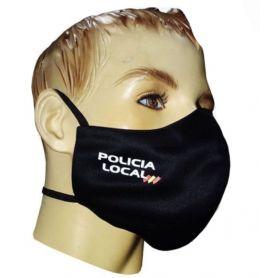 Mascarilla Policía Polcal Textil Higiénicas