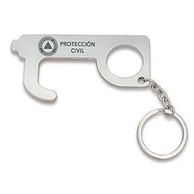 Llavero Protección Civil Empujador